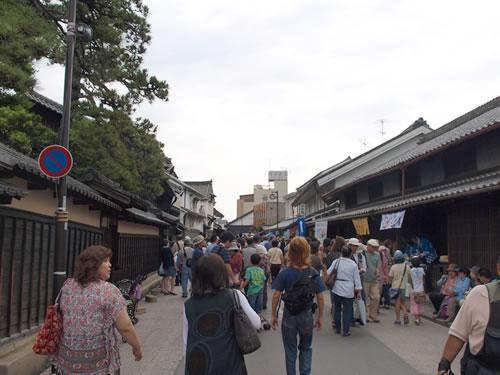 有松の街道