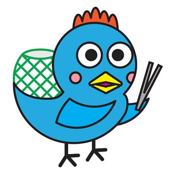青い鳥のキャラクター